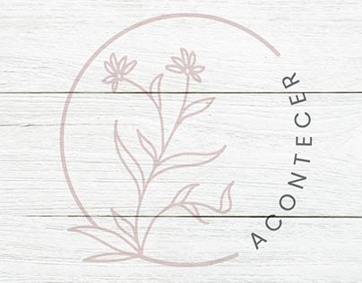 Logo Design | ACONTECER