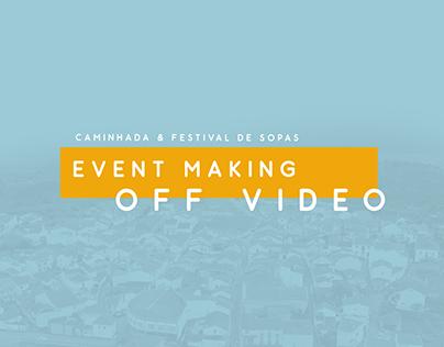 Making Off Video - Caminhada & Festival de Sopas