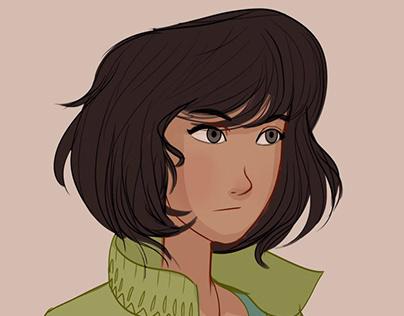 original characters sketch 35