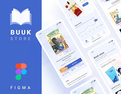 Buuk Store - The simple book store app for nerd