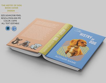 the history of dog book cover design