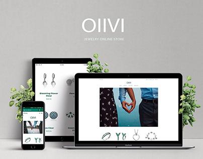 Online store - OllVI