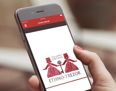 Ethno Trezor - iOS app design