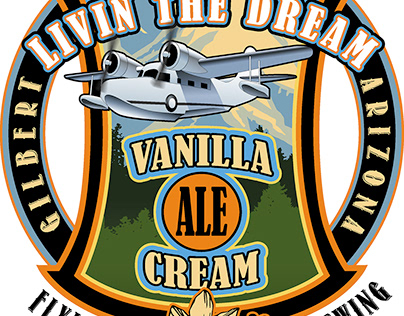 Vanilla Cream Ale Logo Design