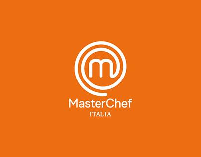 MasterChef Italia - Social Visual Identity 2017