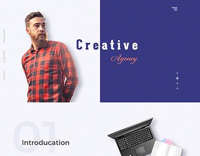 creative agency web tamplate