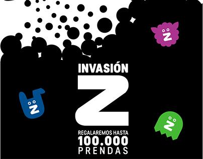 Creative Campaing | Invasión Z