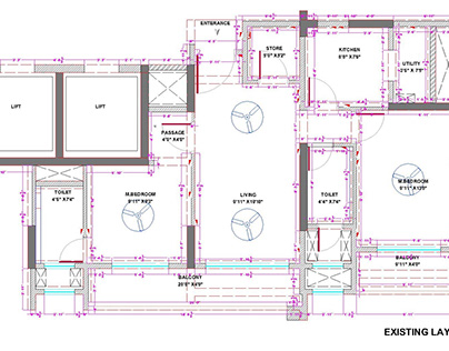 2BHK - Interior design Project.