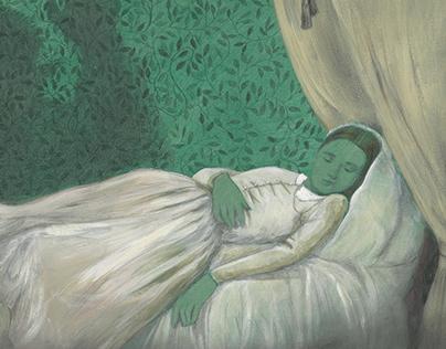 Nosferatu. Sleeping.
