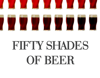 Fifty shades of beer