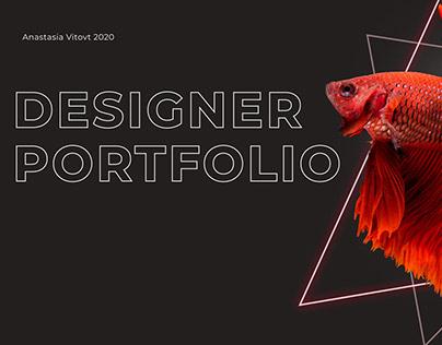 Designer PORTFOLIO (landing page)