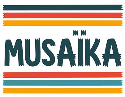 Musaïka free font