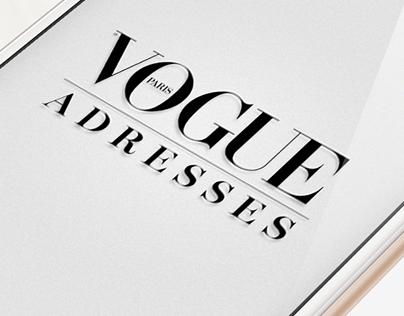 Vogue Adresses