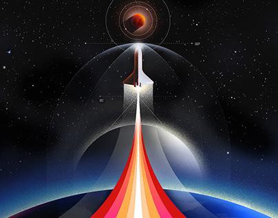 Wired Mars Illustration