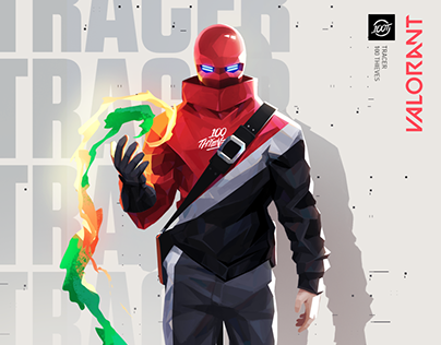 Tracer - Valorant Agent [100T]