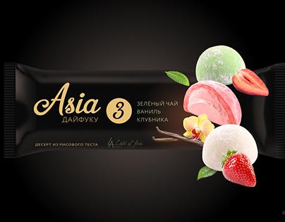 """Package design for desserts """"Mochi"""""""