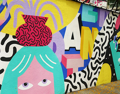 Mural / Arnau gallery X Dante Arcade