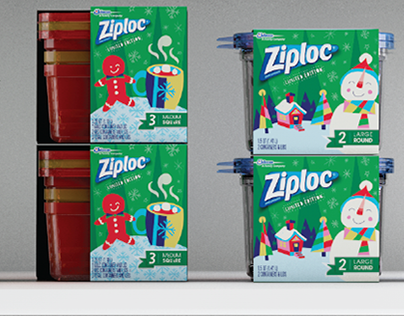 Ziploc® Holiday for Target 2016