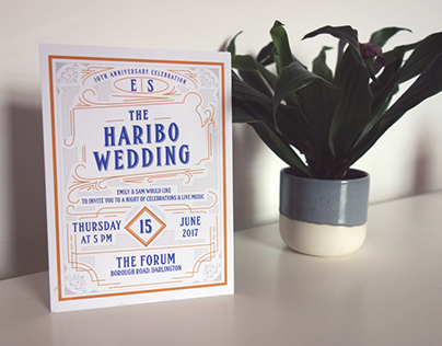 Wedding Invites & Posters