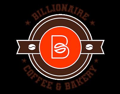 Logo Design for Billionaire Coffee & Bakery
