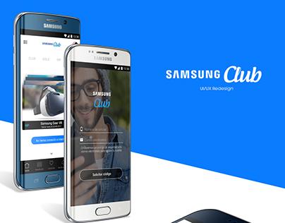 Samsung Club - UI/UX Design