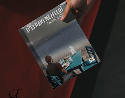 '1i'li Rakı Mezeleri'K. Kapak Tasarımı-Cover Design2020
