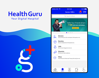 Medical App For Patient UI UX Design