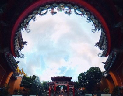 360 Vietnam Chinese tample