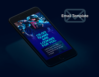 Email Template for Esport