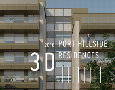 18_3D // PORT HILLSIDE RESIDENCES