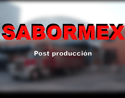 Video Institucional Sabormex