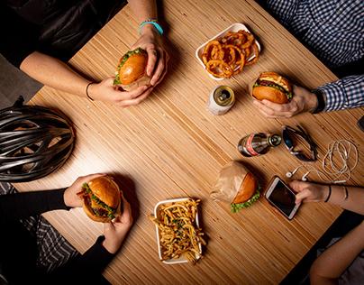 Larkburger Food Photography