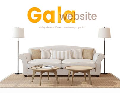 Gala Website version 3.0