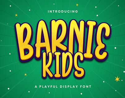 Barnie Kids - Playful Display Font