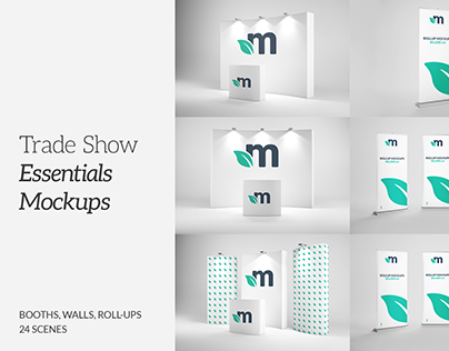 Trade Show Booths & Walls Mockups on Behance