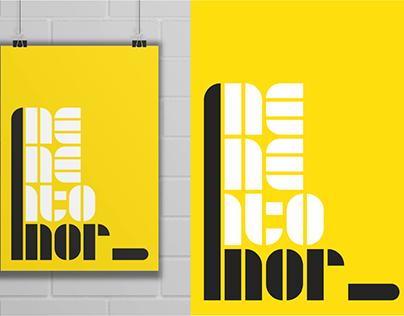 Typography Experiment - Memento Mori