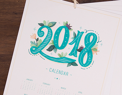 2018 Calendar - Collaborative project