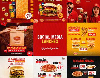 Social Media - Lanches