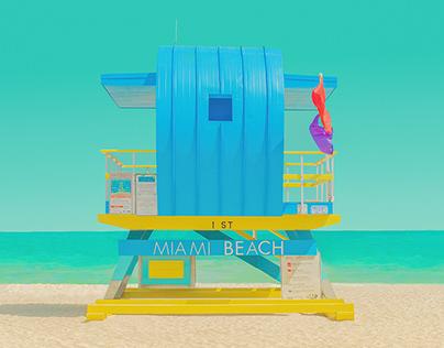 """""""The Modern Paradise -Miami Beach, FL II"""""""