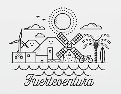 Fuerteventura animated postcard