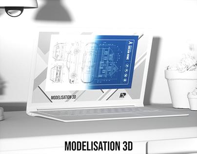 Modelisations 3D