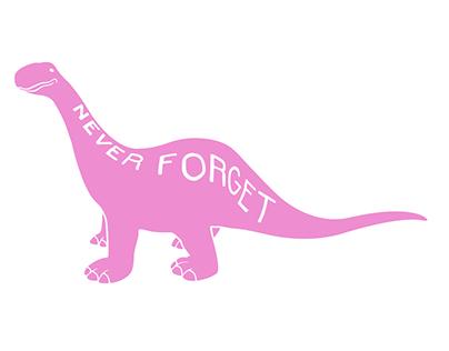 Lowbrow Palace - Pink Dino