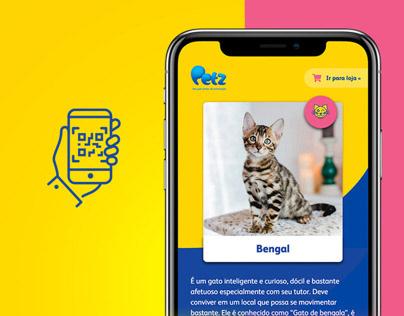 Petz QR Code - Mobile UI Design