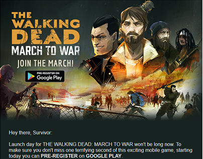 The Walking Dead: March to War Emails