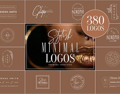 380 Stylish & Minimal Logos