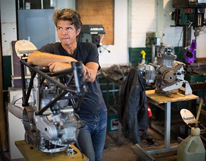 Walt Siegl Master Motorcycle Builder
