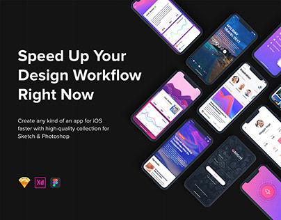 Origin Mobile UI Kit for IphoneX