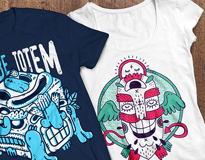 Monster T-Shirt Pack (Print-Ready)