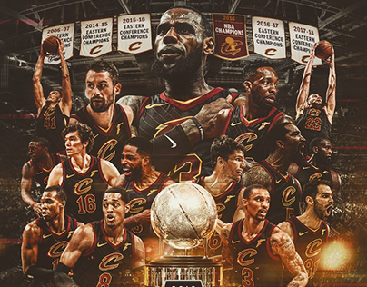2018 Cleveland Cavaliers Playoff Graphics