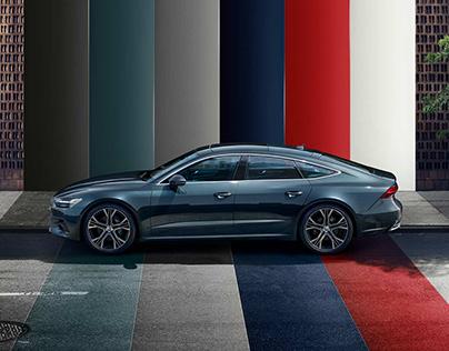 Website Audi A7 Sportback